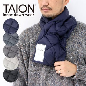 taion マフラー ダウンマフラー TAION タイオン 防寒 ダウン 秋 冬 秋冬プレゼント メンズ レディース protocol