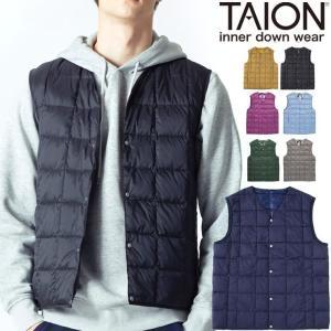 タイオン インナーダウン ベスト ビジネス メンズ インナーダウンベスト TAION V TAION-001|protocol