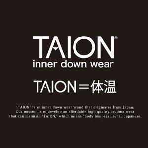 タイオン インナーダウン メンズ XL TAION ダウンジャケット クルーネックボタン インナーダウンジャケット TAION-104|protocol|03