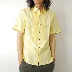 半袖シャツ 半袖カジュアルシャツ / GO WEST ゴーウエスト 半袖 ランチシャツ / メンズ|protocol