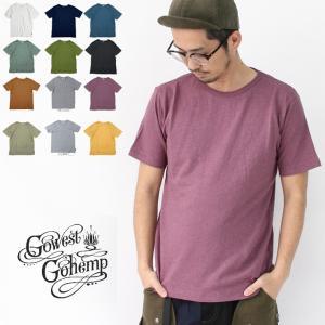 フェス Tシャツ ブランド ゆったり ヘンプ メンズ GOHEMP ゴーヘンプ オーガニックコットン キャンプ 送料無料|protocol