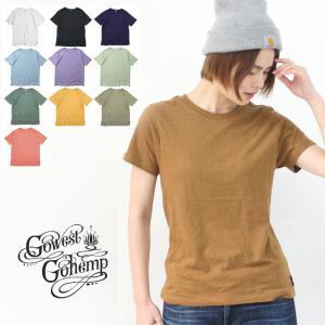 GOHEMP ゴーヘンプ ベーシックTシャツ レディース 山ガール ファッション 野外フェス アウトドア / 送料無料|protocol