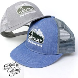 フェス 帽子 メンズ ゴーヘンプ メッシュキャップ キャップ GOHEMP レディース 大きいサイズ キャンプ|protocol