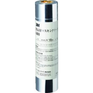スリーエム ジャパン 3M 熱反射マスキングテープ 680 30mm×18m(680 30 AAD)|protools