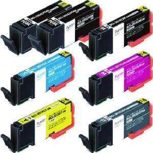 エレコム プレジール CANON 350351シリーズ6色+350BK1個セット(PLE-C351XL6P+BK)|protools