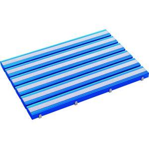 (代引き不可)テラモト 抗菌滑り止め安全スノコ(組立品)600×900青(MR-098-441-3)|protools