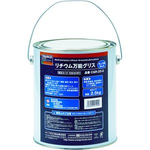 トラスコ中山 TRUSCO リチウム万能グリス #0 2.5kg(CGR-25-0)|protools