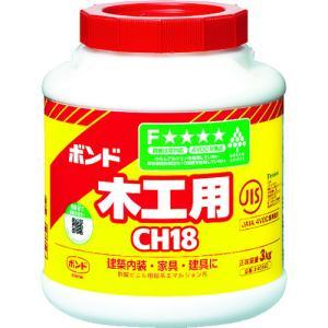 コニシ ボンド木工用 CH18 3kg(ポリ缶) #40140(CH18-3)|protools