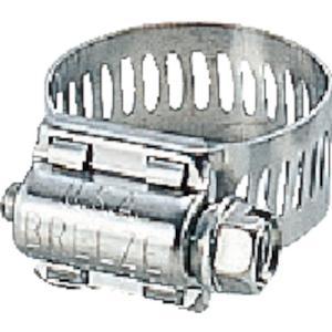 トラスコ中山 ブリーズ ステンレスホースバンド 締付径 13.0mm〜23.0mm【63008】|protools