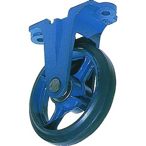 京町産業車輌 鋳物製金具付ゴム車輪100MM(AU-100)|protools