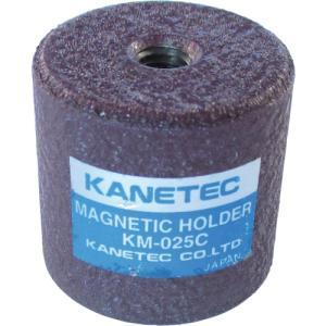 カネテック 永磁ホルダ ネオジム磁石 外径50mm 円形・ねじ穴あり(KM-05C)|protools