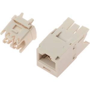 パンドウイットコーポレーション カテゴリ6モジュラージャック オフホワイト CJ688TGIW(CJ688TGIW)|protools