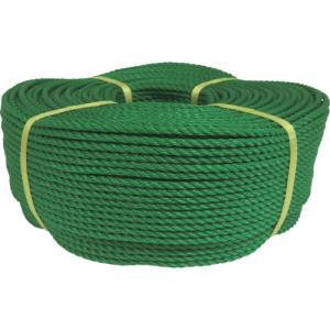ユタカメイク ロープ PEロープ巻物 5φ×200m グリーン(PE-93)|protools