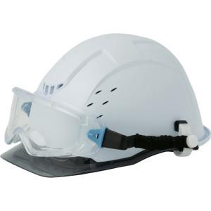 ミドリ安全 ゴーグル型 保護メガネ ヘルメット取付式 VG−501F SPG(VG-501F-SPG)|protools