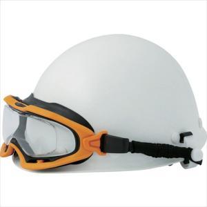 ミドリ安全 ヘルメット取付式ゴーグル VG−503F SPG オレンジ/ブラック(VG-503F-SPG-OR/BK)|protools