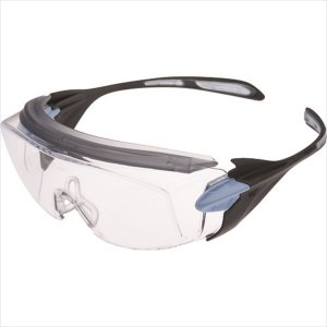 ミドリ安全 小顔用タイプ保護メガネ オーバーグラス VS−303F ブルー(VS-303F-BL)|protools