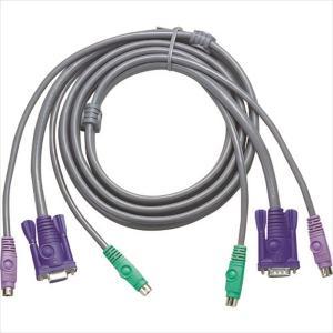 ATENジャパン PS/2 KVMケーブル 1.8m(2L-1001P/C)|protools