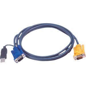 ATENジャパン USB KVMケーブル  PS/2 KVM用 3m(2L-5203UP)|protools