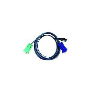 ATENジャパン USB KVMケーブル SPHDタイプ 1.8m(2L-5202U)|protools