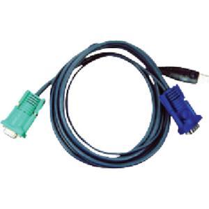 ATENジャパン USB KVMケーブル  SPHD KVM用 3m(2L-5203U)|protools
