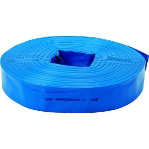 トラスコ中山 TRUSCO PVC送排水用ホース 50mm×100m(TPVCH-50-100)|protools