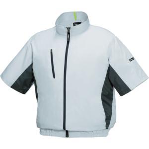 ジーベック 空調服 ポリエステル製スポーツ半袖空調服XE98004−22−5L(XE98004-22-5L)|protools