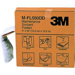 3M メンテナンスソーベント(フォールデッドタイプ) 127mmX15.2m MFL550DD|protools
