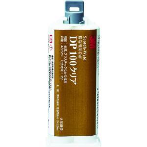 スリーエム ジャパン 3M Scotch−Weld EPX 接着剤 DP100 クリア 48.5ml(DP100 CLE 48ML)|protools