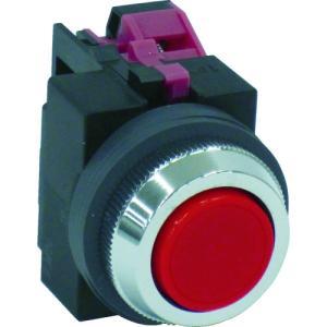 IDEC IDEC 平形押しボタンスイッチ 赤(ABS101NR)|protools