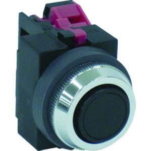 IDEC IDEC 平形押しボタンスイッチ 黒(ABS101NB)|protools