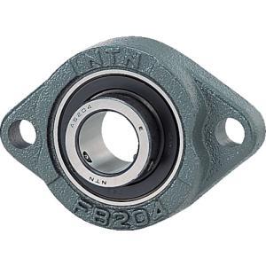 NTNセールスジャパン Gベアリングユニット(止めねじ式)軸径35mm全長122mm全高89mm(ASFB207)|protools