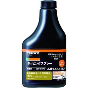 トラスコ中山 TRUSCO αタッピングノンガスタイプ 難削材用替えボトル 350ml(ECO-TS-C)|protools