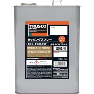 トラスコ中山 TRUSCO αタッピングオイル 難削材用 4L(ECO-TS-C4)|protools
