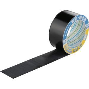 ダイヤテックス パイオラン パイオラン防水テープ(KM-30-BK)|protools