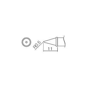 白光 こて先 0.5WB型(T12-WB2) protools