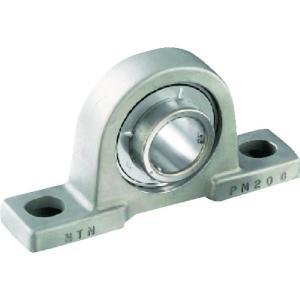 NTNセールスジャパン G ベアリングユニット(止めねじ式) 軸径20mm 中心高さ33.3mm(F-UCPM204/LP03)|protools