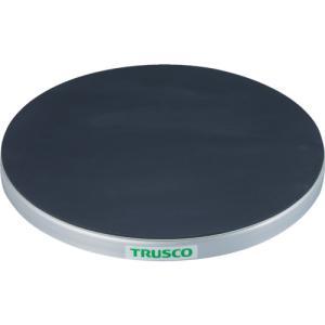 トラスコ中山 TRUSCO 回転台 50Kg型 Φ300 ゴムマット張り天板(TC30-05G)|protools