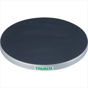 トラスコ中山 TRUSCO 回転台 100Kg型 Φ300 ゴムマット張り天板(TC30-10G)|protools