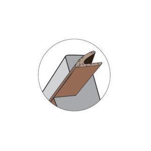 ニトムズ ドア窓用気密パッキンV型(G0104)|protools