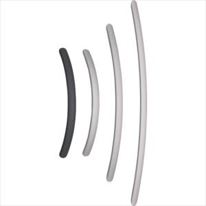 スガツネ工業 アルミ製弓形ハンドルSOR型600シルバー(100−010−962(SOR-600S)|protools