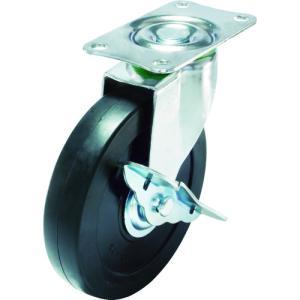 ユーエイ キャスターS付自在車 径125ハードゴム車輪(E-125RHS)|protools