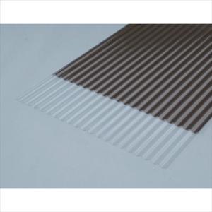 (代引き不可)アイリスオーヤマ IRIS 軽量ポリカ波板 6尺 クリア(NIPC-605-CL)|protools