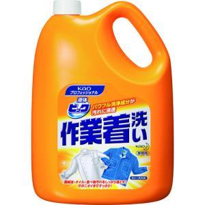 花王 Kao 液体ビック作業着洗い 4.5Kg(507174)|protools