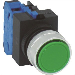 IDEC 平形押しボタンスイッチ(ABW110G)|protools
