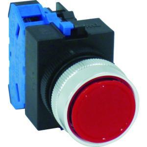 IDEC 平形押しボタンスイッチ(ABW110R)|protools