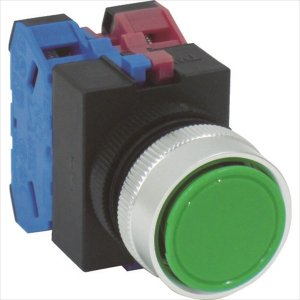 IDEC 平形押しボタンスイッチ(ABW111G)|protools