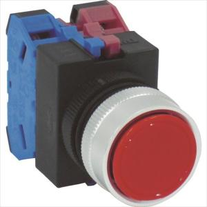 IDEC 平形押しボタンスイッチ(ABW111R)|protools