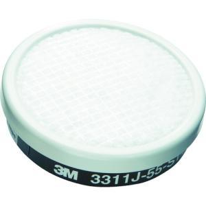 スリーエム ジャパン 3M 有機ガス用吸収缶S1ろ過材付き 3311J−55 (3311J-55) protools