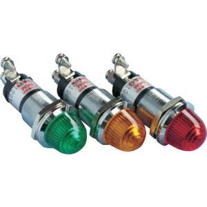 坂詰製作所 サカズメ ランプ交換型超高輝度LED表示灯(AC100V接続) 橙 φ16(DO8-B6M-AC100V-O/O)|protools