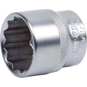 トラスコ中山 TRUSCO ソケット(12角) 差込角12.7 対辺15mm(TS4-15W)|protools